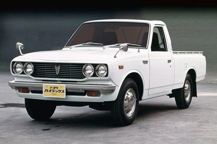 2nd Generation Toyota Hilux