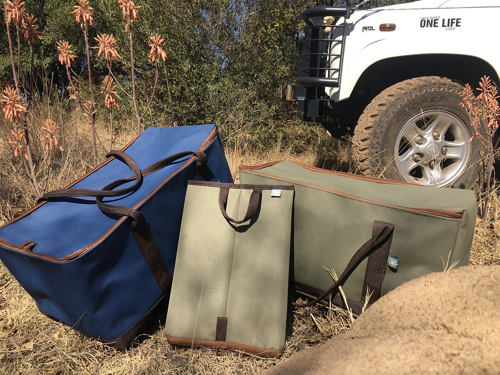 Tarp and Twill bags