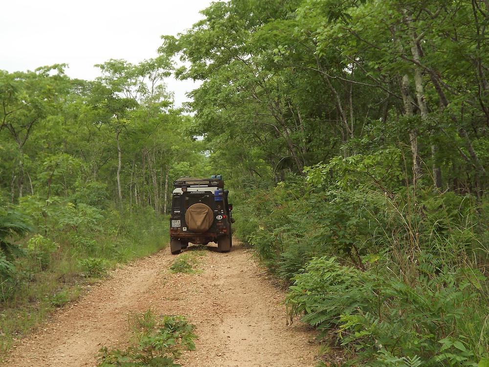 Northern Mozambique Roads