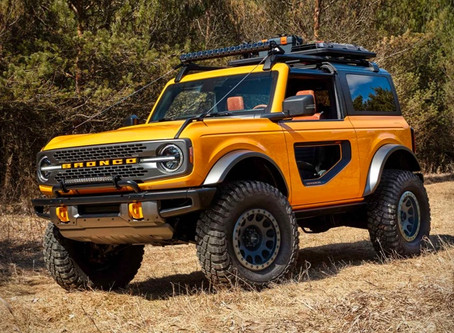 Another New Model. The 2021 Ford Bronco...