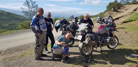 SA Adventure Motorcycle Support Crew
