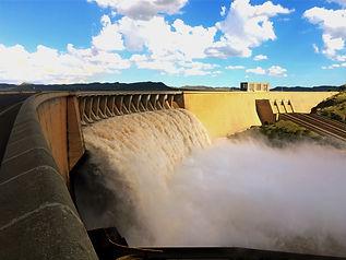 Gariep Dam in flood
