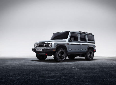 Ineos Grenadier revealed as rugged off-roader for 2021