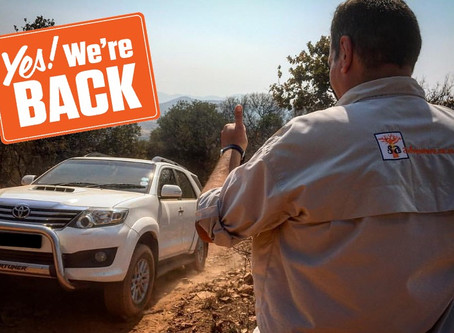 Our 4x4 Training is Back...
