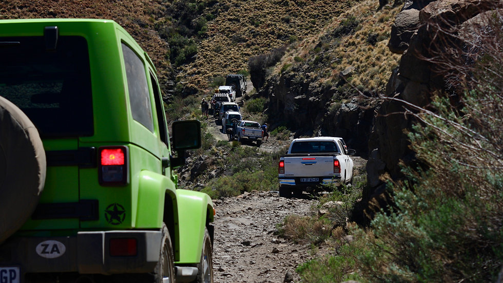 The Great South African Escape 4x4 Adventure