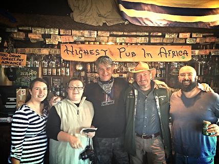 Highest Pub in Africa 4x4 tour