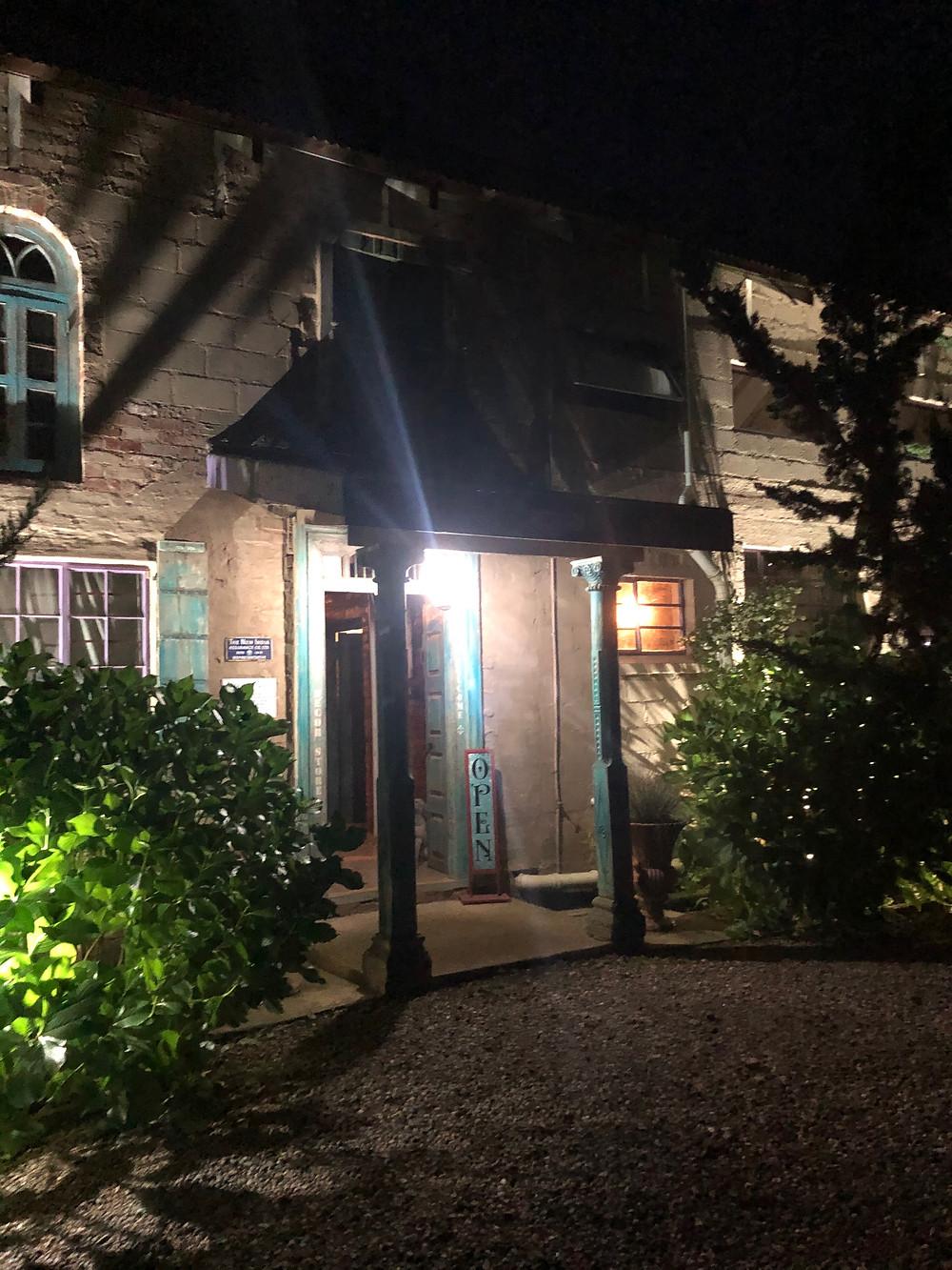 Midlands, Midlands Meander, Crystal Barn Country Estate, hotel entrance, covered entrance, light