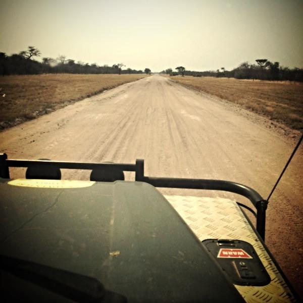 4x4 Training, gravel roads
