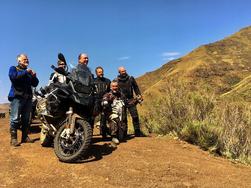 SA Adventure Motorcycle tour