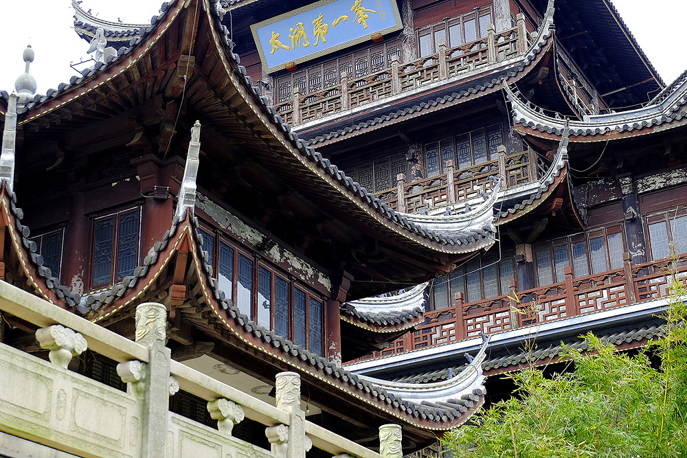 Wuxi, Chinese temple