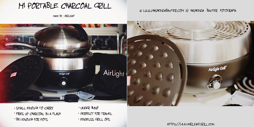 AirLight Portable Charcoal Grill