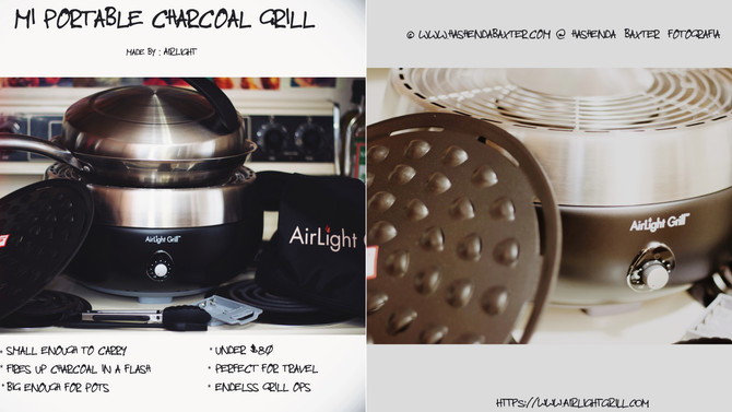 AirLight Grill ♥︎