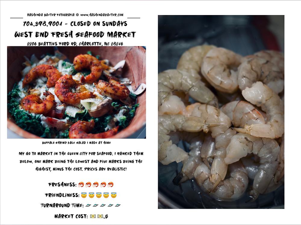 West End Fresh Seafood Market・Charlotte, NC