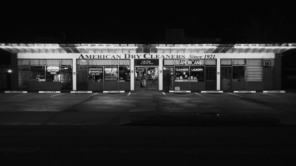 American Dry Cleaners by Hashenda Baxter Fotografia