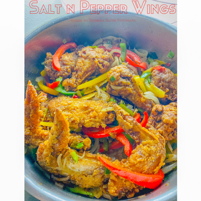 Salt N Pepper Wings