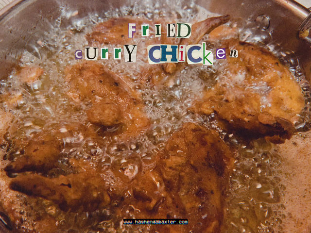 Fried Curry Chicken