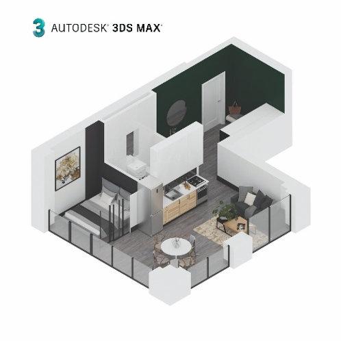 3d визуализация для дизайнеров интерьера