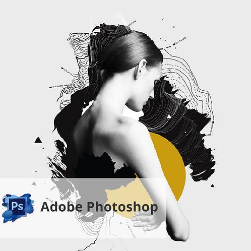 Онлайн. Adobe Photoshop. Самостоятельное изучение программы.