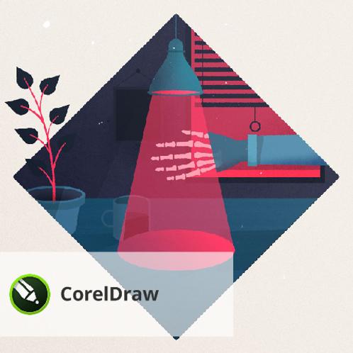 Онлайн. CorelDraw. Изучение программы с обратной связью.