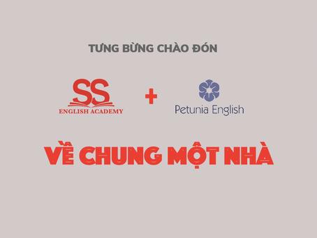Công Bố Sáp Nhập Petunia English Vào SS English Academy