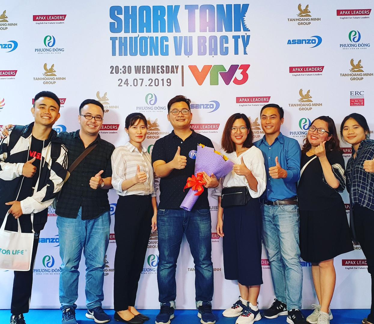 SS English Academy tham dự Shark Tank (Thương vụ bạc tỷ)
