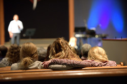 Family time in church