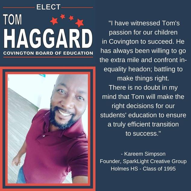 Haggard BOE Campaign Endorsements.jpg