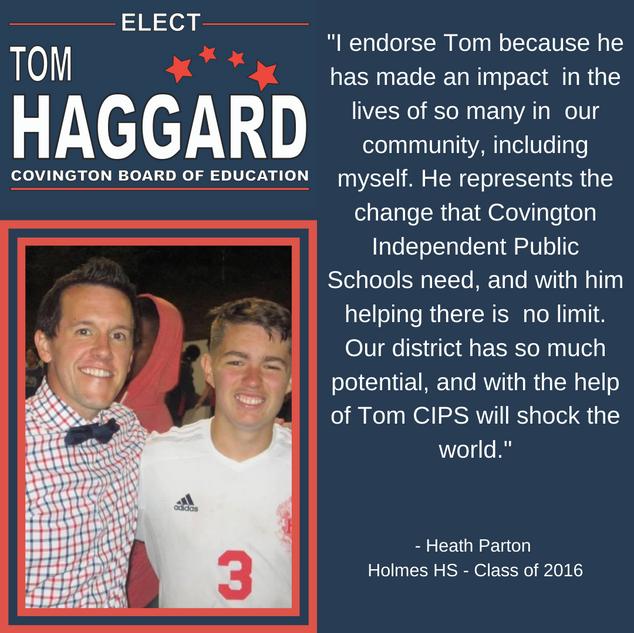 Haggard BOE Campaign Endorsements - H. P