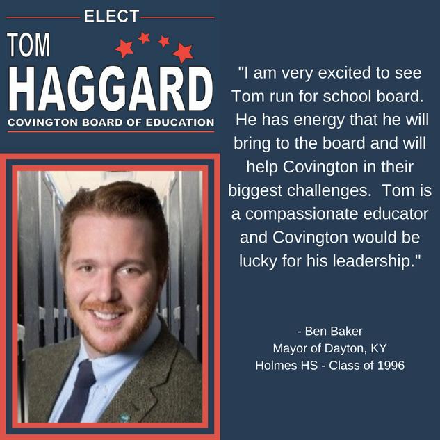 Haggard BOE Campaign Endorsements - B. B