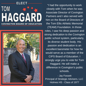 Haggard BOE Campaign Endorsements - J. F