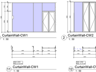 Documenting Curtain Walls