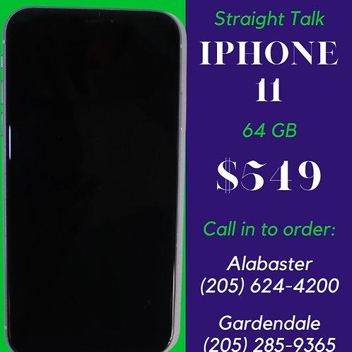 Straight Talk - iPhone 11 (64GB)