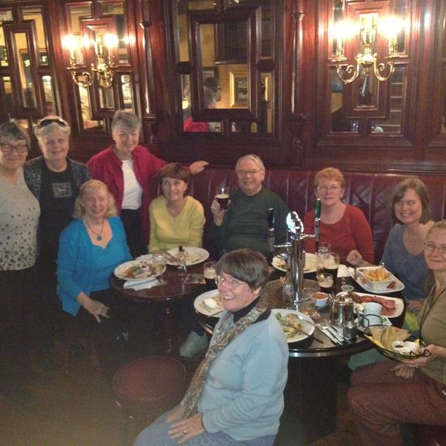 2012 Pub Dinner