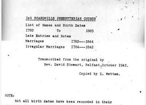 Were Your Ancestors Presbyterians?