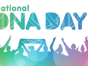 Next Sunday (April 25th) is DNA Day