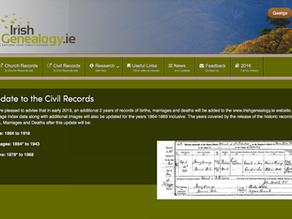 Civil Registration in Ireland - It's a New World!