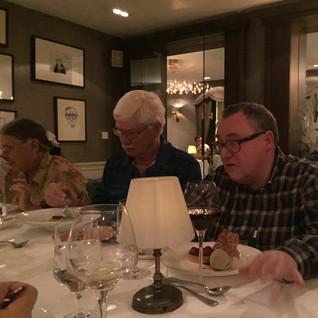 Final Dinner with John Grenham