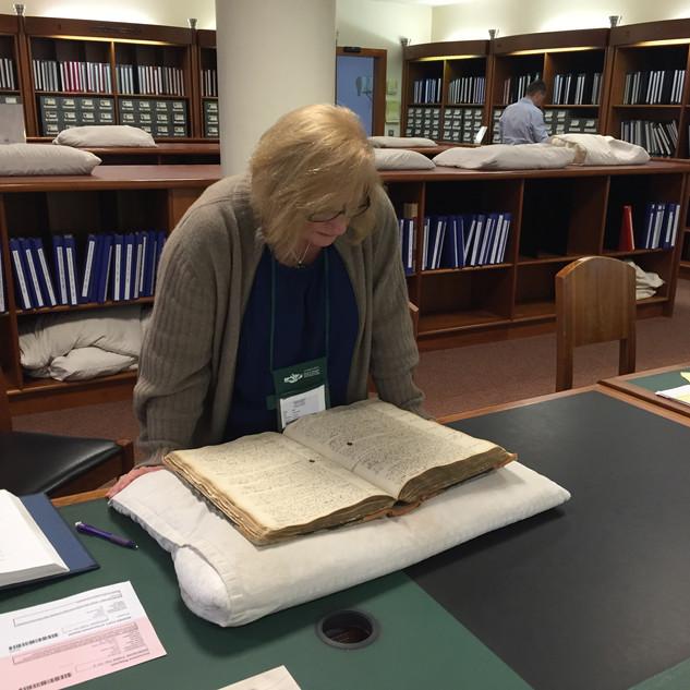 National Archives Dublin Reading Room
