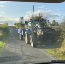 Driving the Leitrim Road in Down.jpg