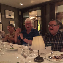 Dinner at the Shelbourne with John Grenh