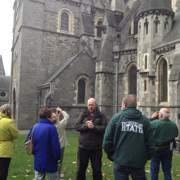 Walking Tour of Dublin- Christ Church Cathedral