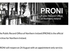 Best Genealogy Sites for Irish Research: PRONI