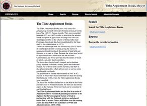 The Tithe Applotment