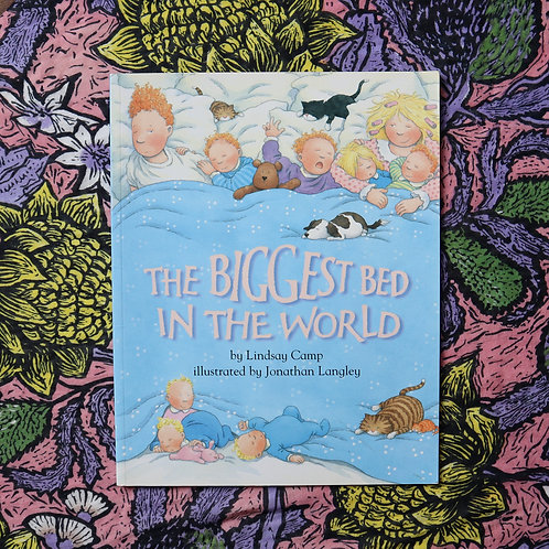 The Biggest Bed in the World by Lindsay Camp and Jonathan Langley