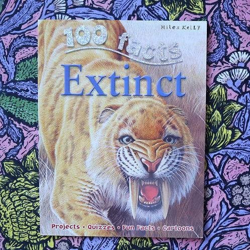 100 Facts; Extinct by Steve Parker