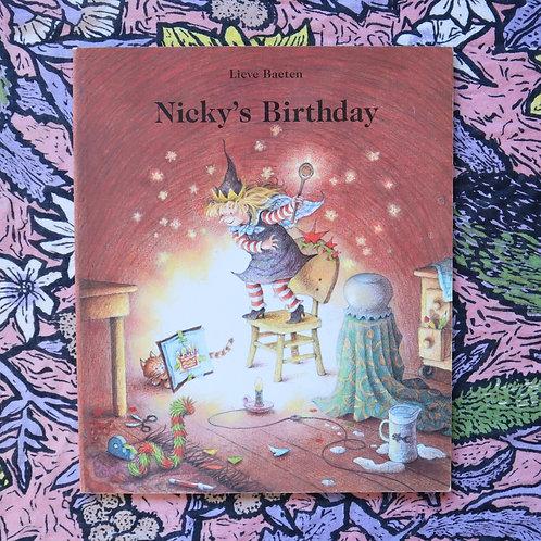 Nicky's Birthday by Lieve Baeten