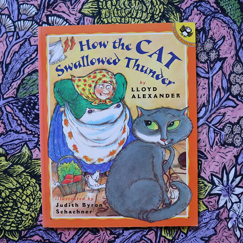 How the Cat Swallowed Thunder by Lloyd Alexander and Judith Byron Scachner