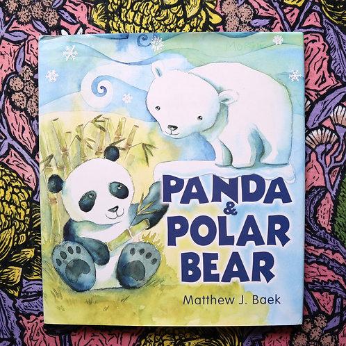 Panda & Polar Bear by Matthew J Baek