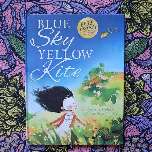 Blue Sky Yellow Kite by Janet Holmes & Jonathan Bentley