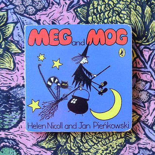 Meg and Mog by Helen Nicoll and Jan Pienkowski